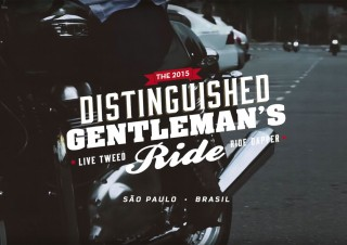 [Triumph Motorcycles] The Distinguished Gentleman´s Ride Brazil 2015