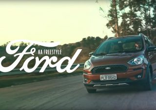 Por dentro do novo Ford Ka Freestyle